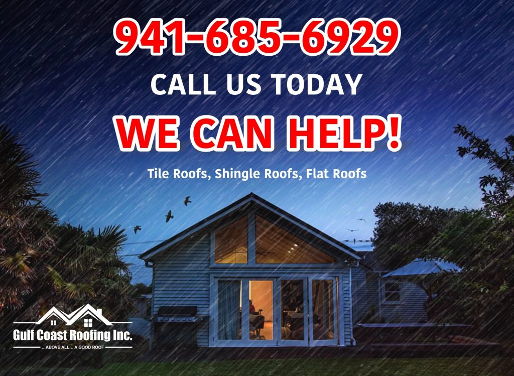 roof leak repair in sarasota